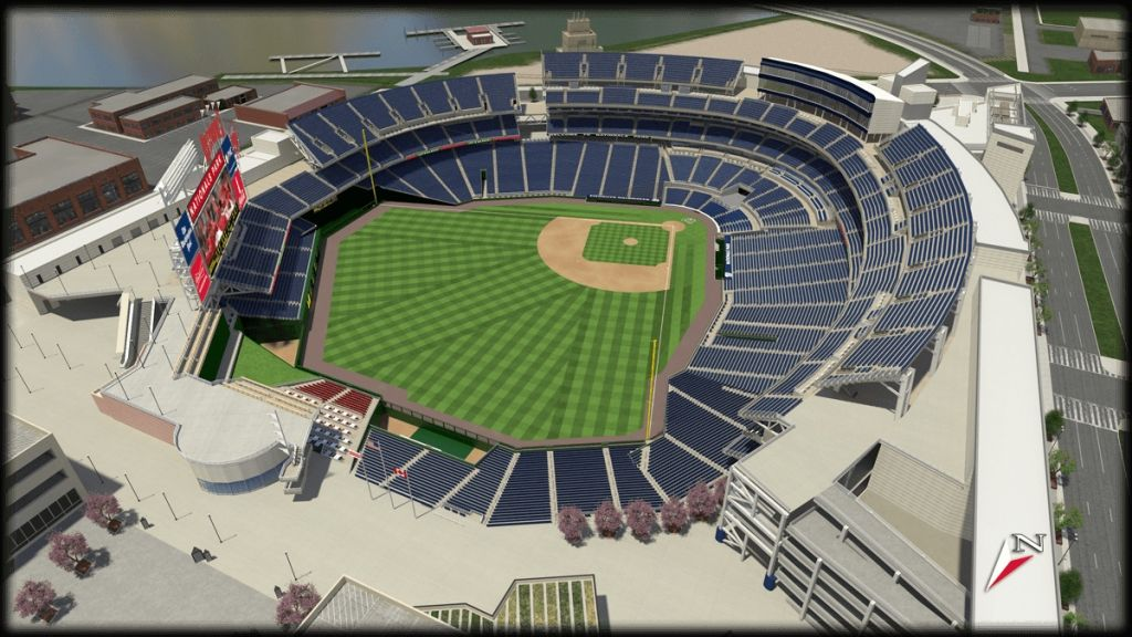 Washington Nationals Stadium Seating Chart