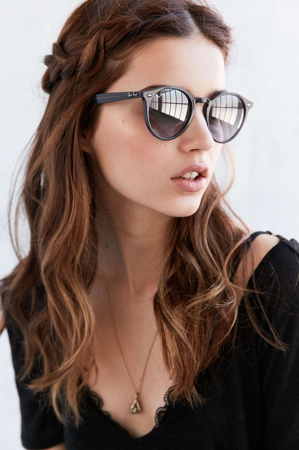 c62ae8ebca19 Ray-Ban Highstreet Round Sunglasses | Clothing | Sunglasses, Ray ...