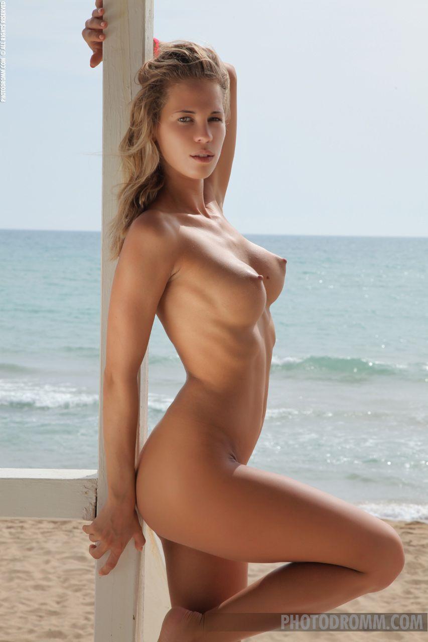 Topless beach free voyeur