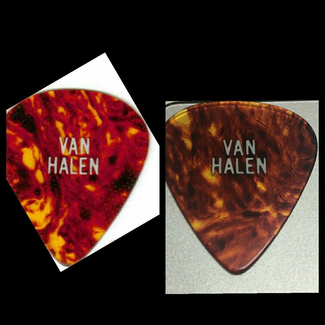 1979 Van Halen Guitar Picks Guitar Picks Van Halen Halen