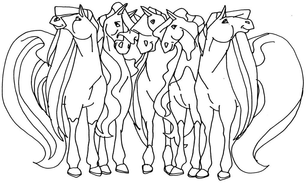 horseland coloring pages  my coloring pages  horse