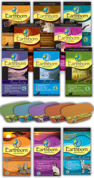 Earthborn Holistic Dog and Cat Food. They have wet & dry