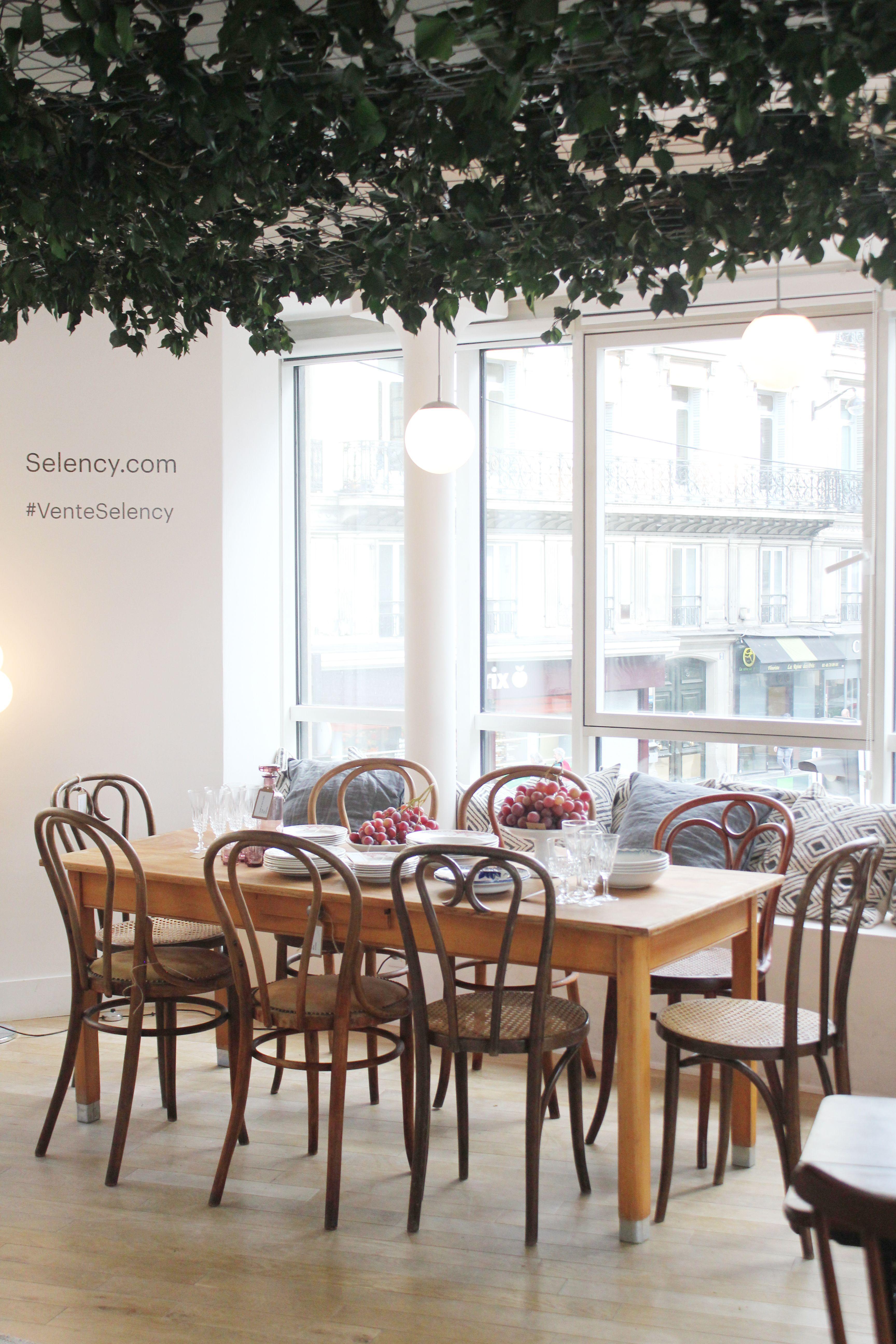 Brocante En Ligne Selency salle à manger, pop up le temps des vendanges, table de