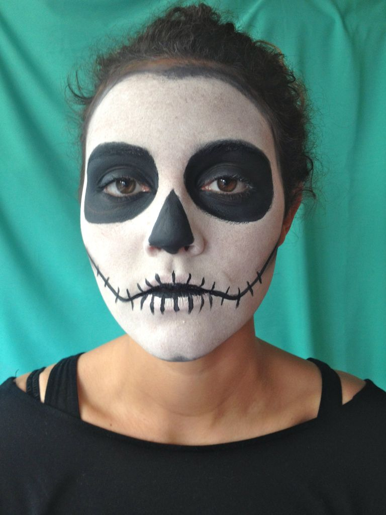 diy day of the dead: part 1 – the face | halloween | pinterest