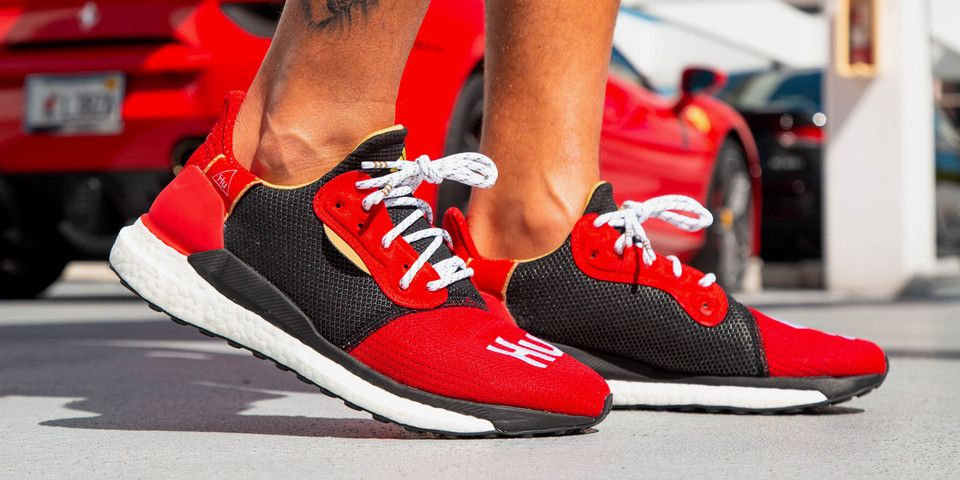 195b8ce2e787 On-Foot Look at the Pharrell x adidas Solar Hu Glide Chinese New Year  Edition  Adidas  Chinese  Edition  Glide  Hu  OnFoot  Pharrell  Solar  Year