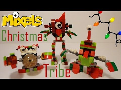Lego Mixels Moc Instructions Christmas Tribe Reindeer Youtube