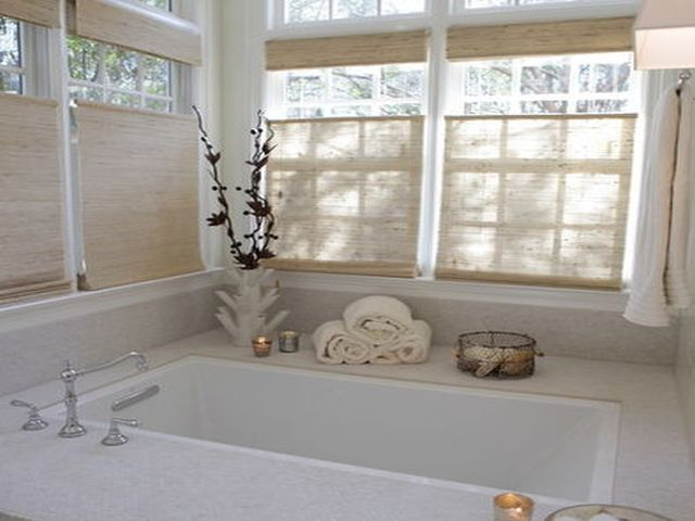 Inbouwbad En Raamdecoratie Romantische Badkamers Badkamer Huis