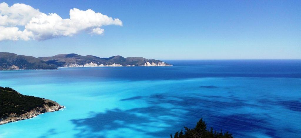 The bluest blue - Myrtos Bay, Kefalonia, Greece