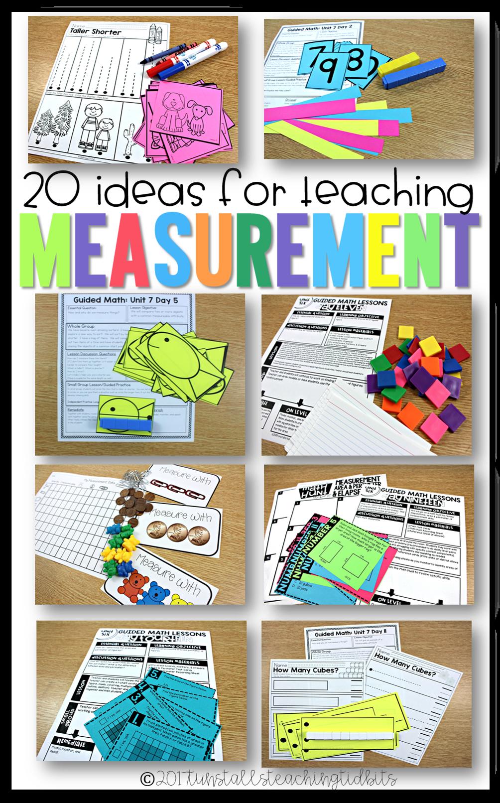 20 Ideas for Teaching Measurement | Kindergarten, Fun activities and ...