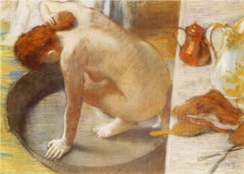 The Tub - Edgar Degas