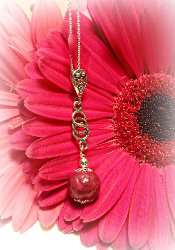 Memorial Flower Petal Jewelry Love Me Knot by myflowersforever