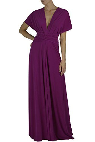 8774e1cb28 Von Vonni Women s Transformer infinity Wrap Dress All Colors  21.00  14.99  One Size Fits USA 2-12 Made In USA Stretch Jersey Fabric 96% Polyester 4%  Spandex