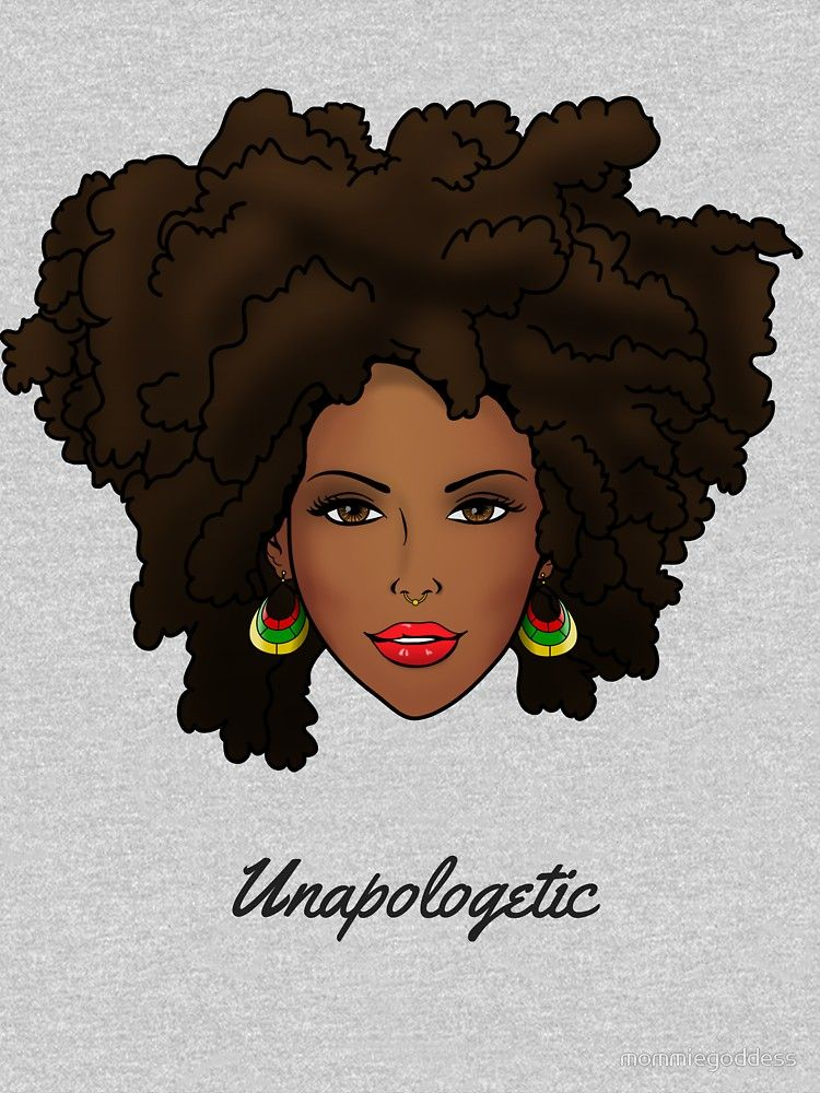 2e56071ddf Unapologetic Queen by mommiegoddess Black Girl Art