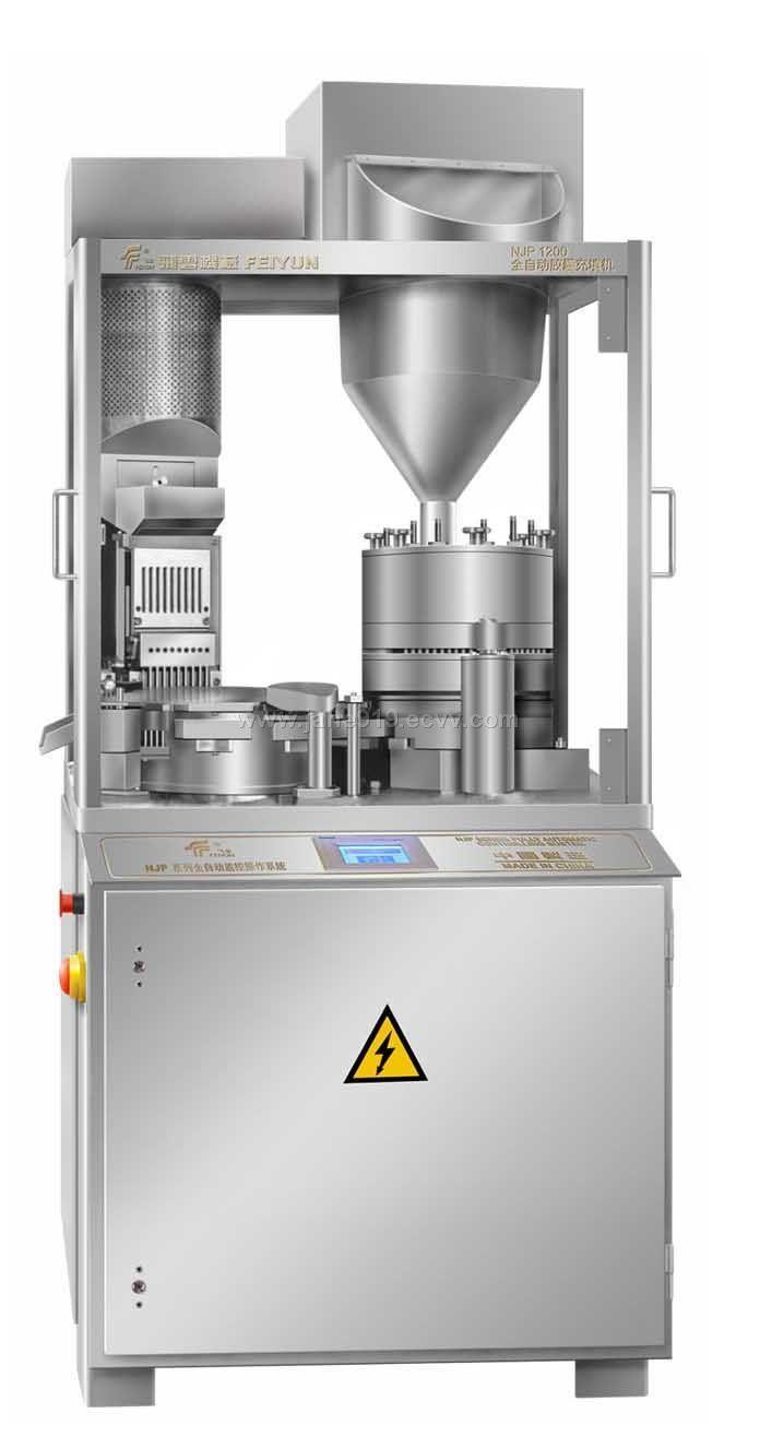 Full Automatic Capsule Filling Machine Njp 1200 China Full Automatic Capsule Filling Machines Feiyun Manufacturing Manufactory Machine