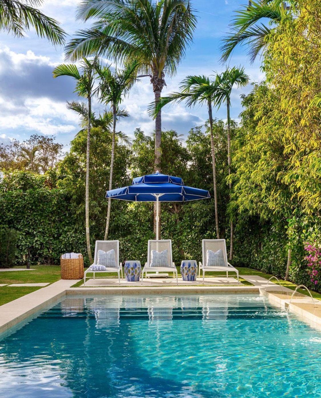 Skinny Dipping Backyard - House Backyards