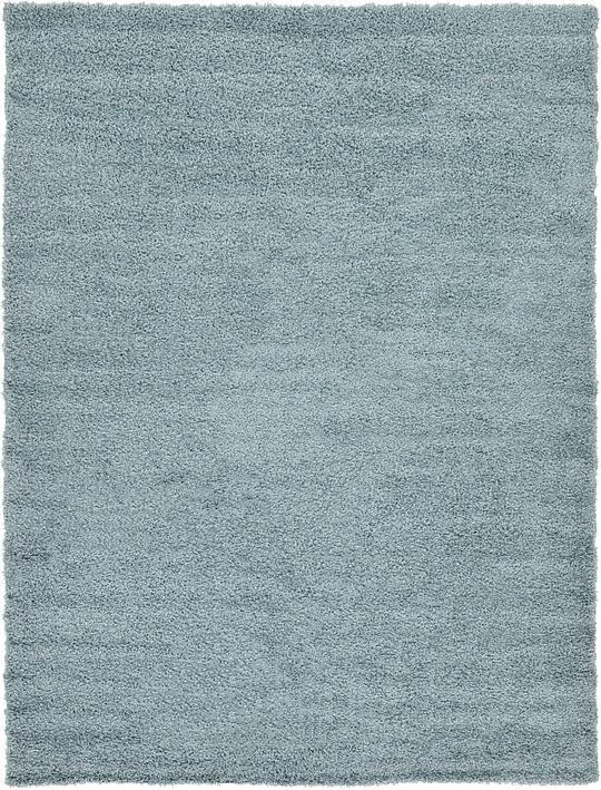 light slate blue solid shag area rug