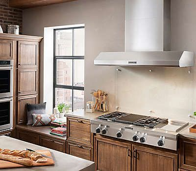 48 Inch 6 Burner With Griddle Gas Rangetop Commercial Style Kgcu483vss Stainless Steel Kitchenaid Cafe Interior Cafe Interior Design Home