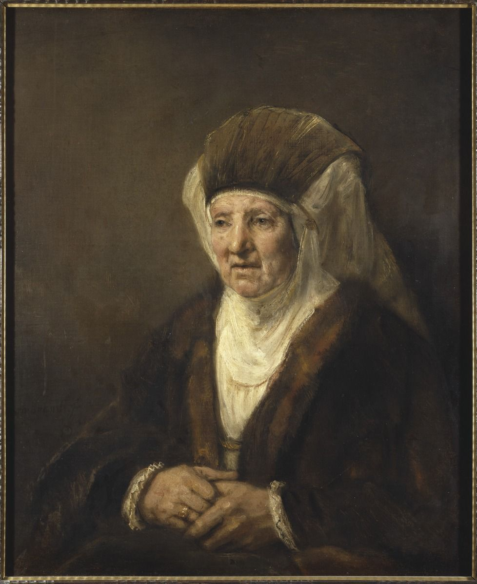 Rembrandt (1606–1669), Portrait of an Old Woman
