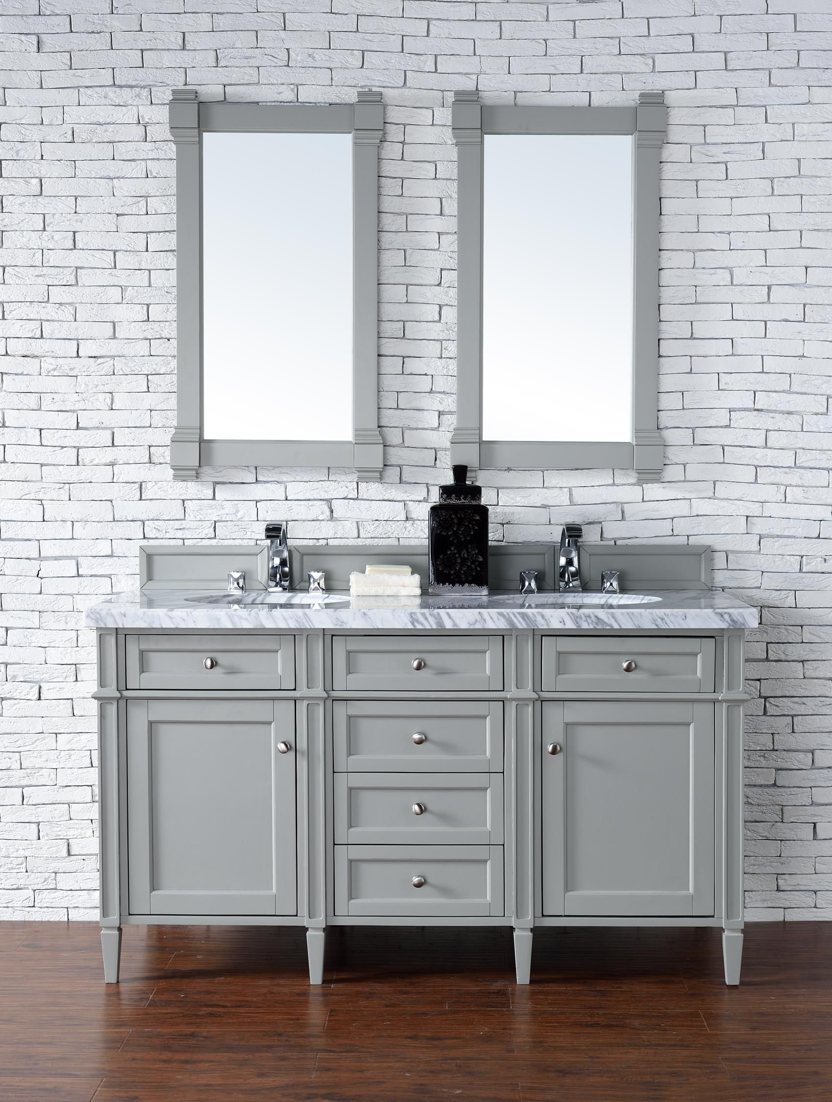 wmsq gr usa caroline estate grey in vanity md double set virtu bathroom