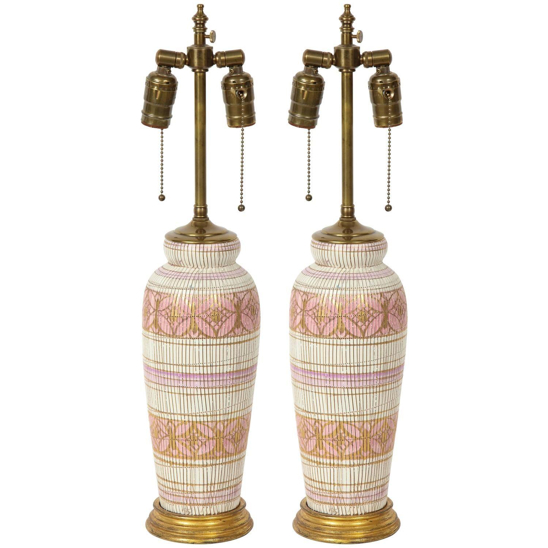 Aldo Londi Bitossi Ceramic Lamps