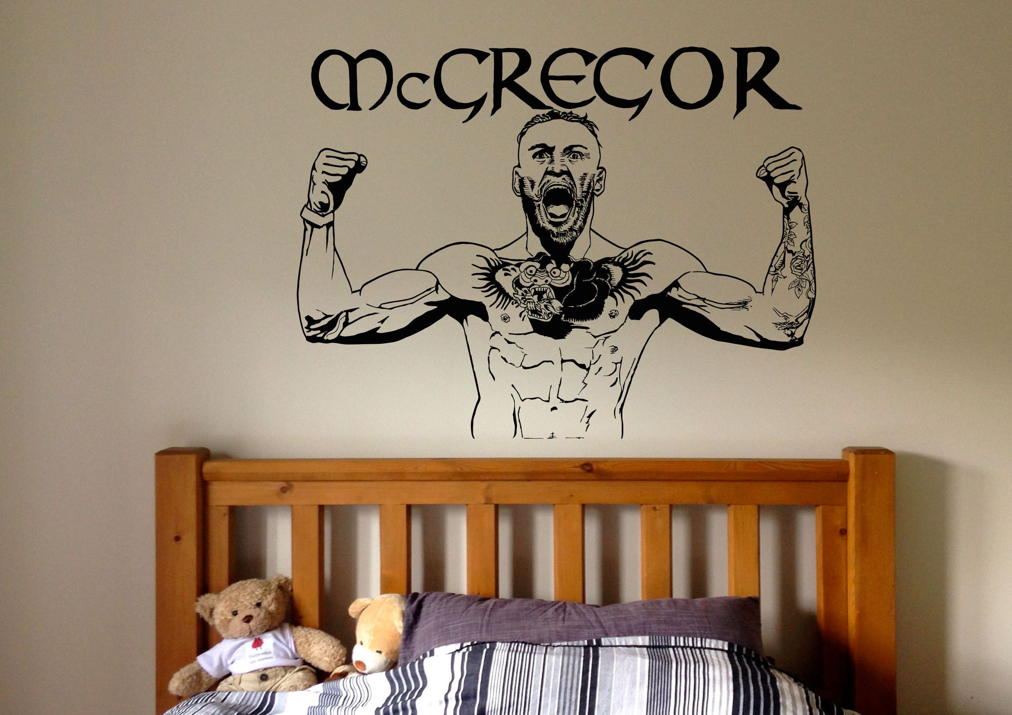 Conor Mcgregor Ufc Mma Fighter Wall Decal Iwallstickers Herois