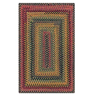 August Grove Kips Bay Hand Braided Cotton Red Brown Black Area Rug Rug Size Rectangle 1 8 X 2 6 Wool Area Rugs Braided Wool Rug Braided Area Rugs