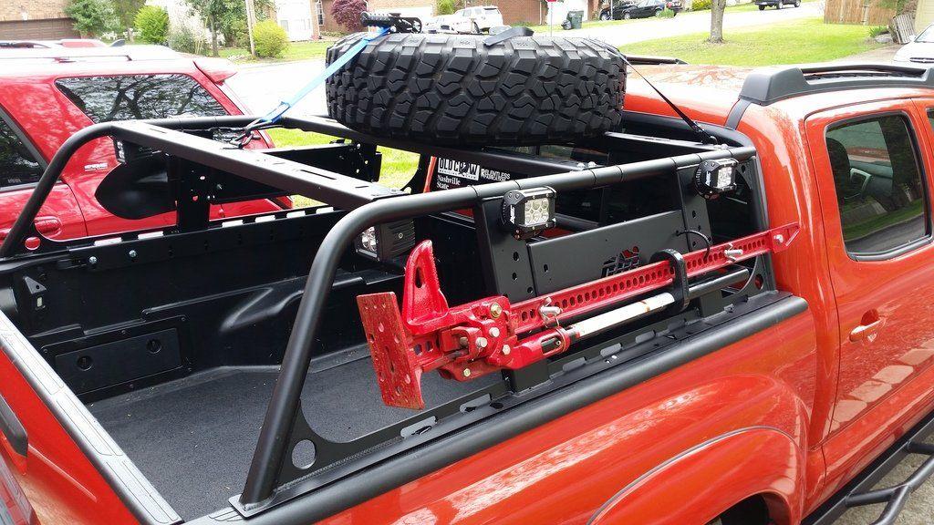 Overland rack Truck roof rack, Truck bed, Truck cargo rack