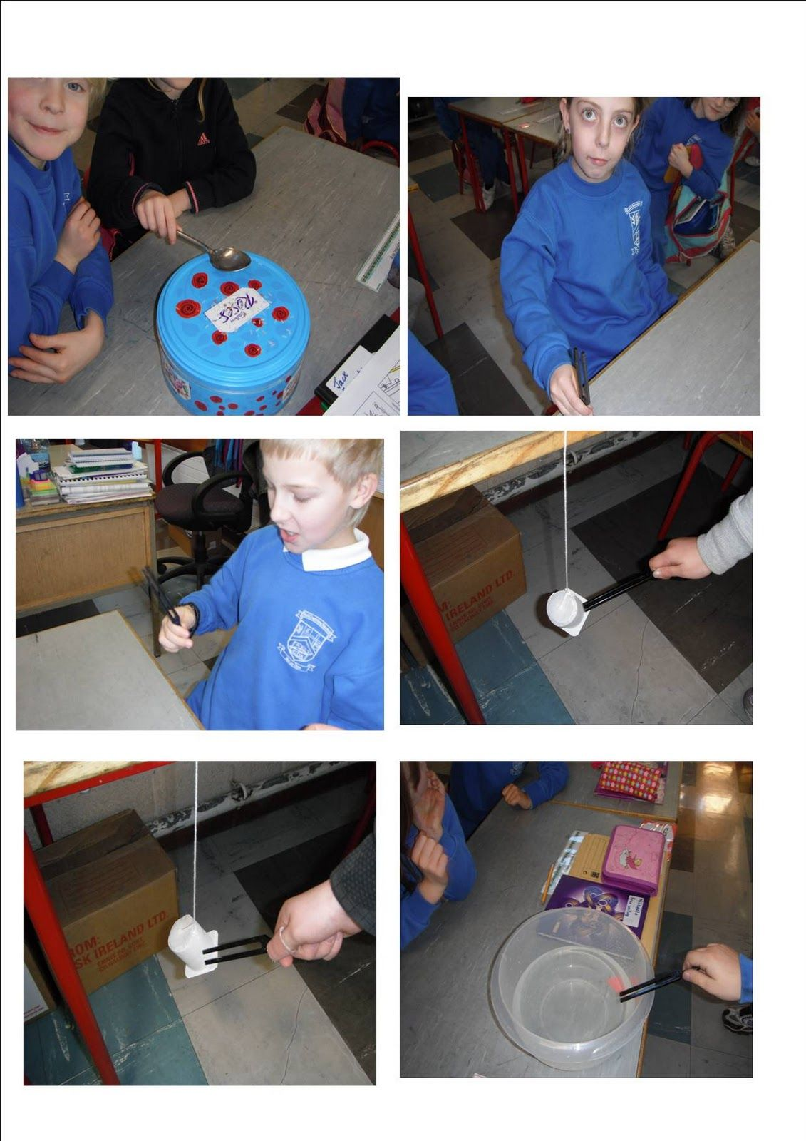 Science Projects Sound Experiments Second Class