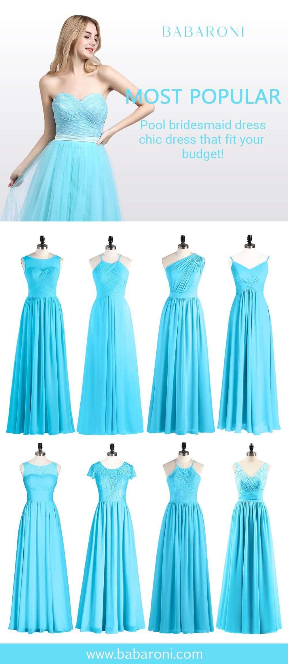 33++ Pool blue bridesmaid dress information