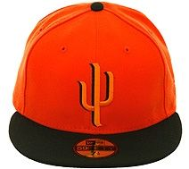 ff4d6521bac New Era 2Tone Surprise Saguaros Fitted Hat - Orange