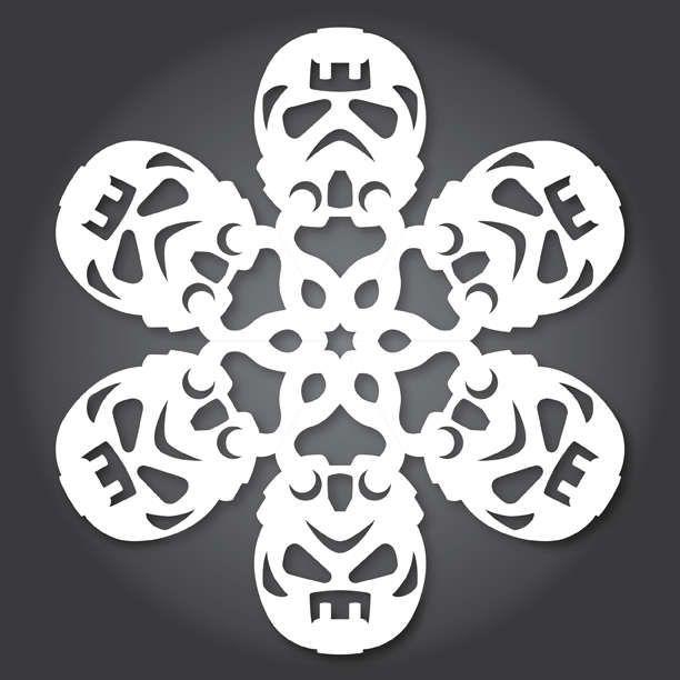DIY Sci-Fi Snowflakes | Navidad