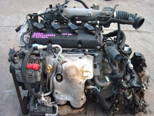 Used Car Engines >> Engine Code Qr20 Fits In Nissan X Trail Japanese Used