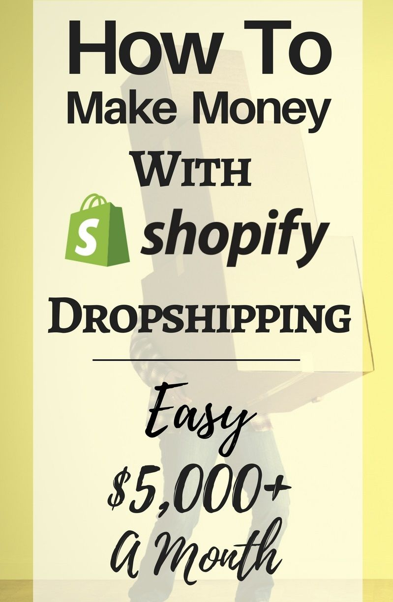 How To Make Money With Shopify Dropshipping? Make money