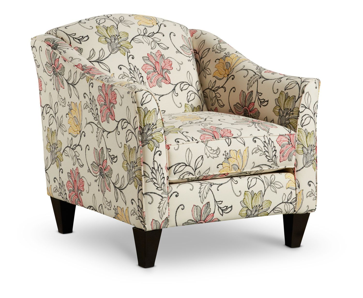 Dallas Accent Chair At Hom Furniture Wing Chair Accent Chairs Furniture