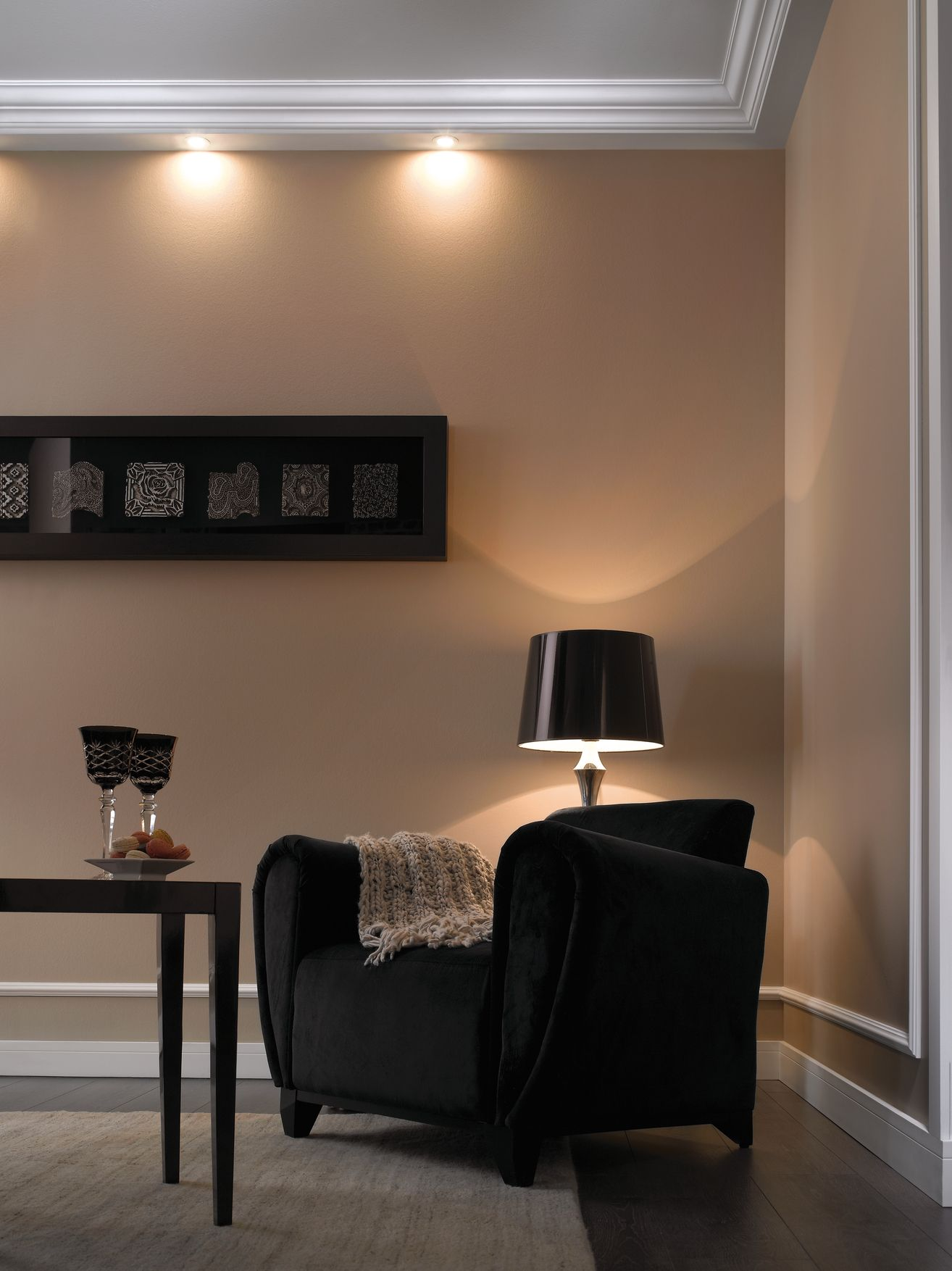 interior spot lighting. Lighting Solutions Coving Fitted With Spot Lights For A Downlighting Effect Interior .
