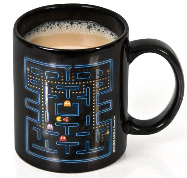 Pac-Man mug.