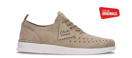 Jacobee Lo, Clarks mens sport shoes in sand suede | clarks.eu