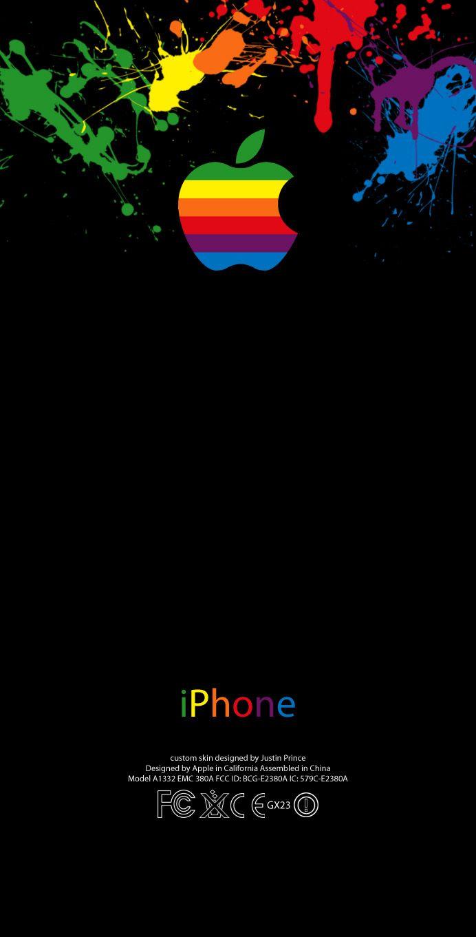 splash classic iPhone 4 skins by justinprince on DeviantArt