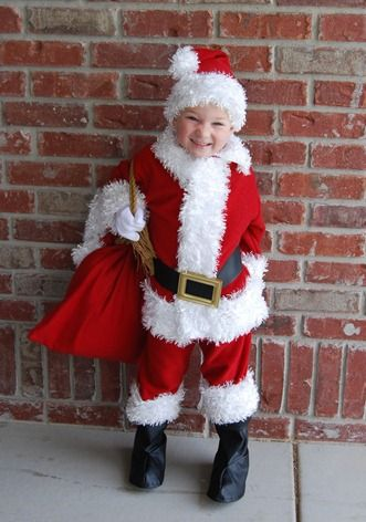 d66123f532 Zack says he s being Santa for Halloween.... lol...Santa Costume + belt  from dollar store frame tutorial