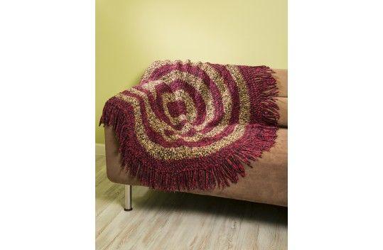 Premier® Deborah Norville Cuddle Fleece® Bullseye Throw