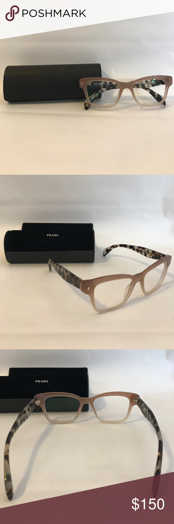 1e25855c7ef5 Prada glasses Brand new. The only thing is that it has prescription lens in  them for both eyes.