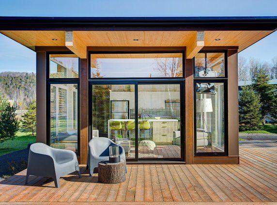 Pre-engineered home | Small modern house plans, Prefab homes, Modern house plans