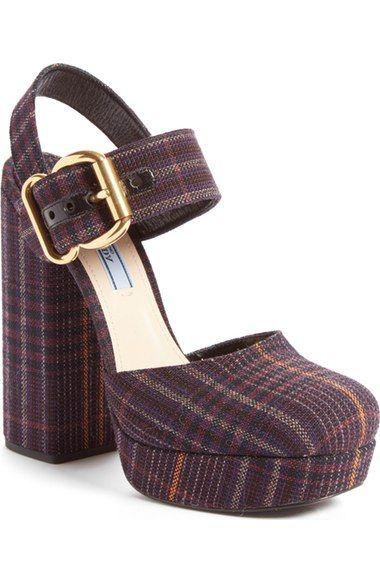 ed0af0acb909 Prada Buckle Platform Sandal (Women) available at  Nordstrom ...