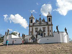 """""""Santuário de Bom Jesus"""". Congonhas, Minas Gerais. Brasil."""