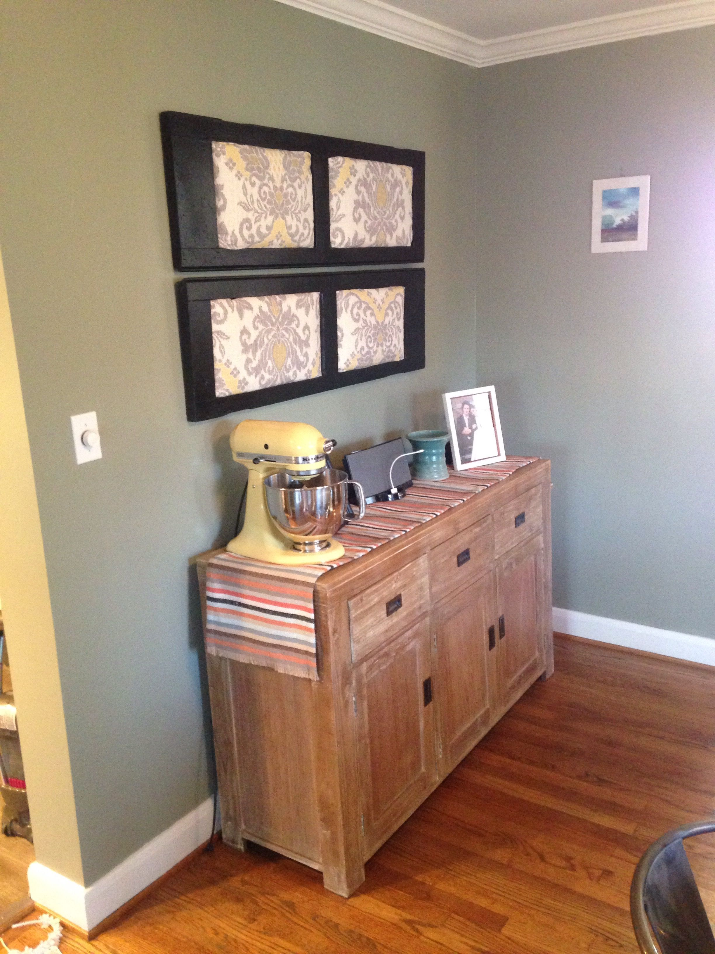 The Dining Room Painted  Rentals And Beans Benjamin Moore Extraordinary The Dining Room Painting Review