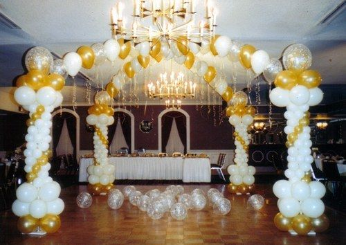 Decoracin CON GLOBOS para bodas Imagui ailed Pinterest