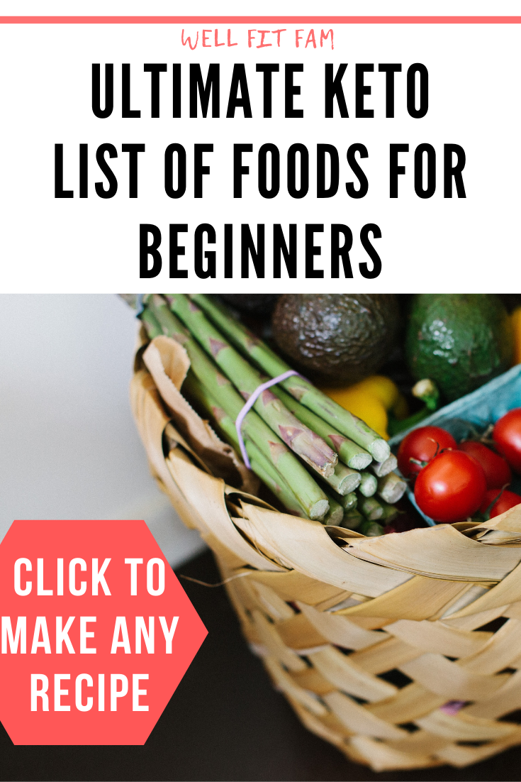 The ultimate keto shopping list for beginners. Pin this to your keto board so yo...