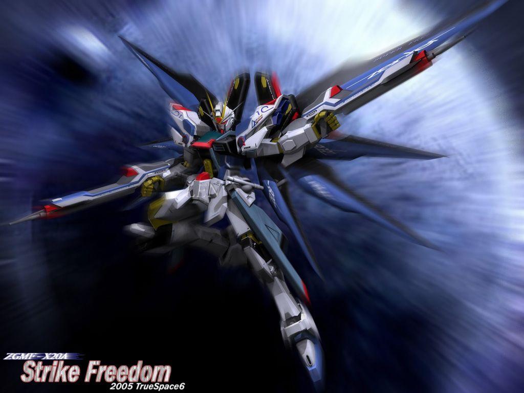 Strike Freedom Gundam Gundam seed, Gundam wallpapers