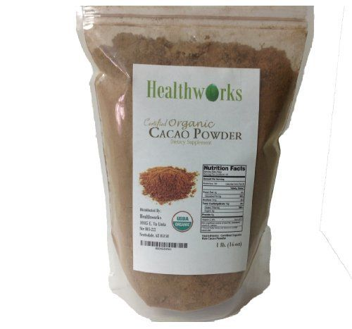 Super Food- Certified Organic Raw Cacao Powder 1 Pound/ 16oz $8.75 by Alive and Aware, http://www.amazon.com/dp/B004EKHN4I/ref=cm_sw_r_pi_dp_nXK7qb03T6Y8S/175-7242259-0404648