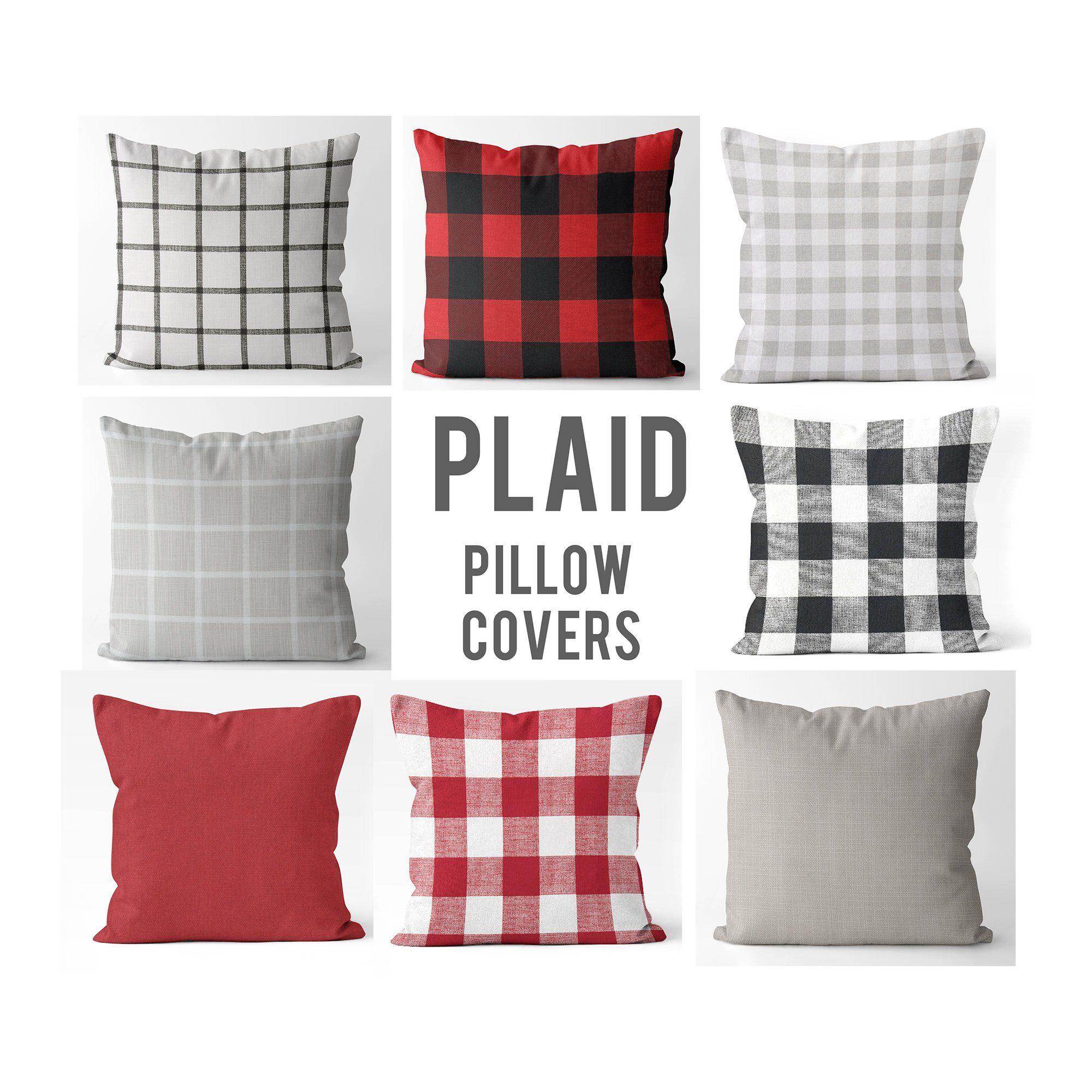 Farmhouse pillow covers 18x18 20x20 etsy pillows